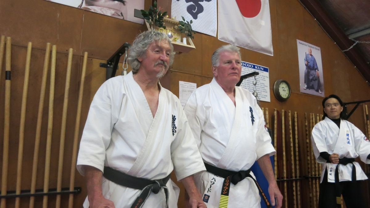 Sensei David Craigie and Young Dojo – September 10, 2017