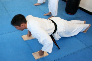 Strength & fitness training in Kyokushin - Sempai Don Cheung