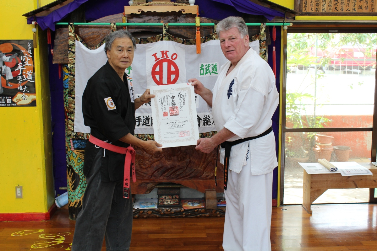 Shihan Kobudo Gradings – November, 2011