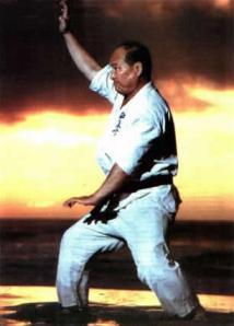 Sosai Mas Oyama performing kata