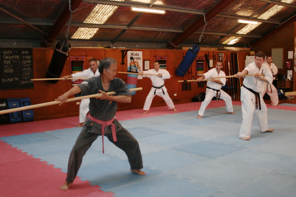 Sensei Hokama's Australian Seminar – September 14-16,2012