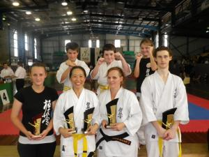 National All Styles trophies won by North Coast KIMAA students