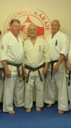 Shihan Lipman, Shihan Boulton and Shihan Cunningham