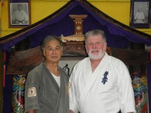 Sensei Hokama and Shihan Lipman