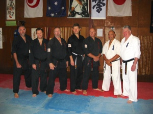 Sensei Mark & Sempai Rob's visit to Sydney in February