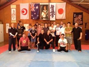 2013 June Knife Seminar - Group Shot