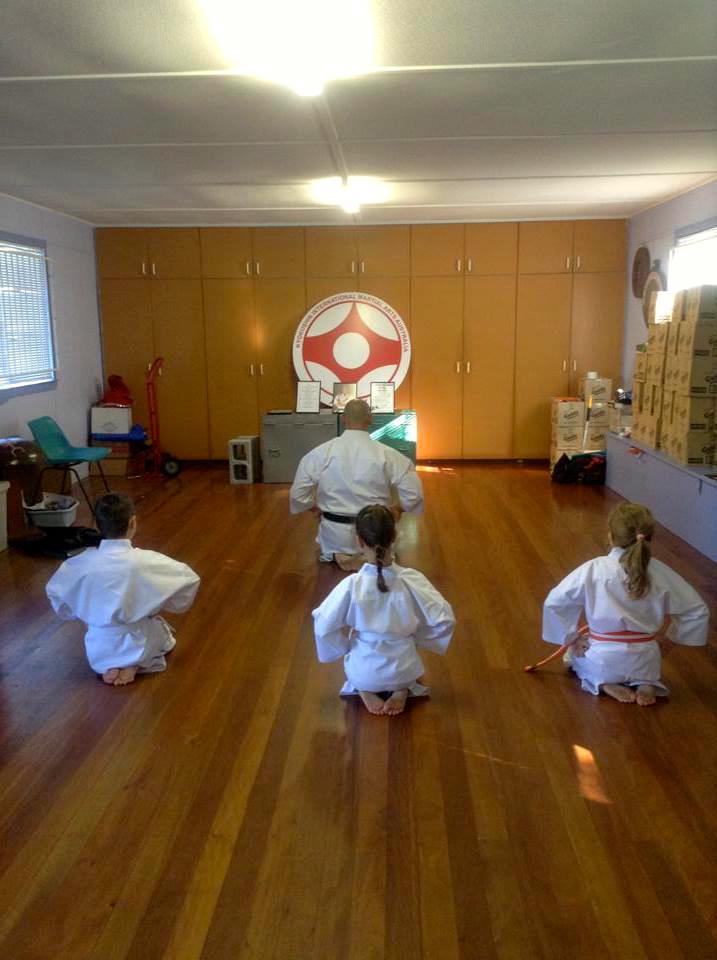 Aspley Dojo Little Lions First Grading – June 15,2013