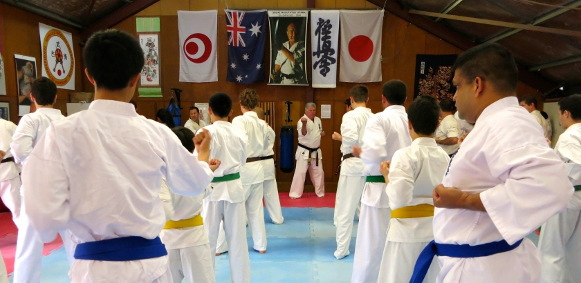 Shihan Howard Lipman leads the first Saturday session.
