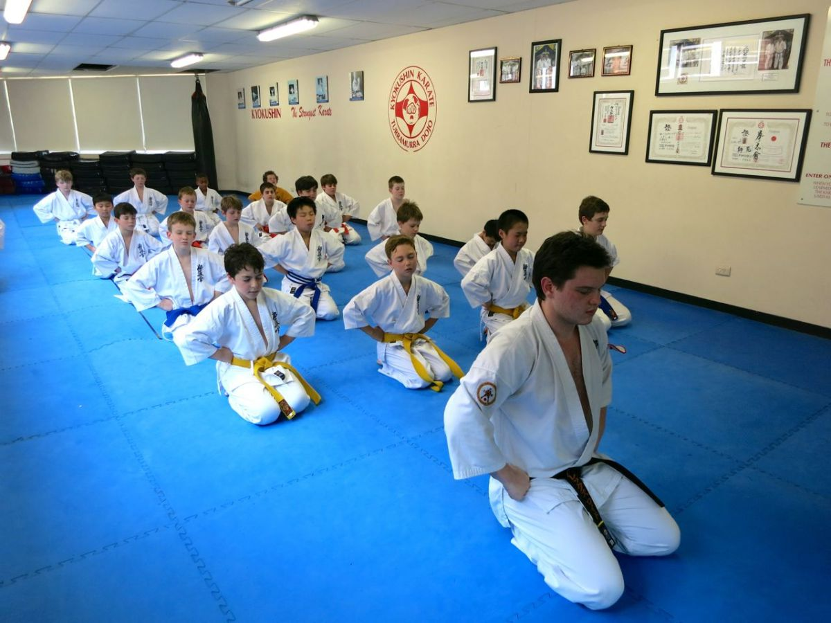 Knox Karate Gradings – November 2, 2013