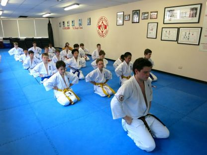 Knox Prep students after the November grading