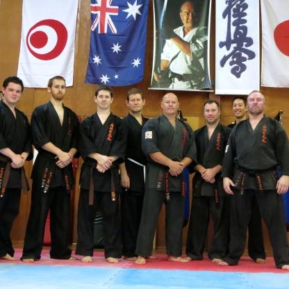 Kobudo Class, February 2014