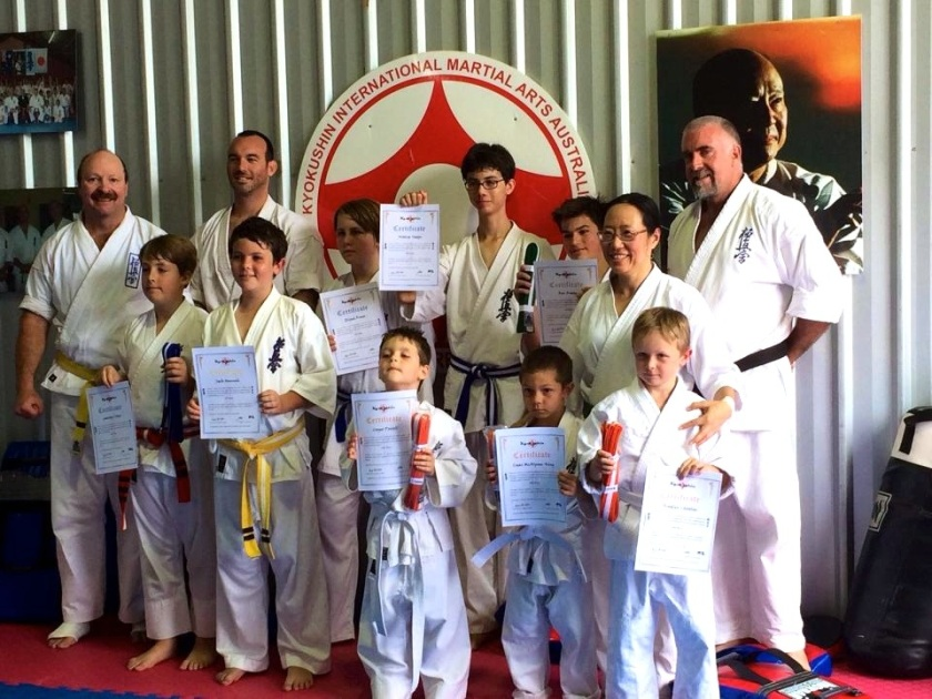Group after the grading
