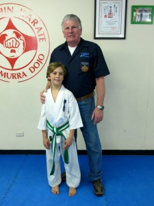 Josh Darley with Shihan Howard Lipman, June 2014