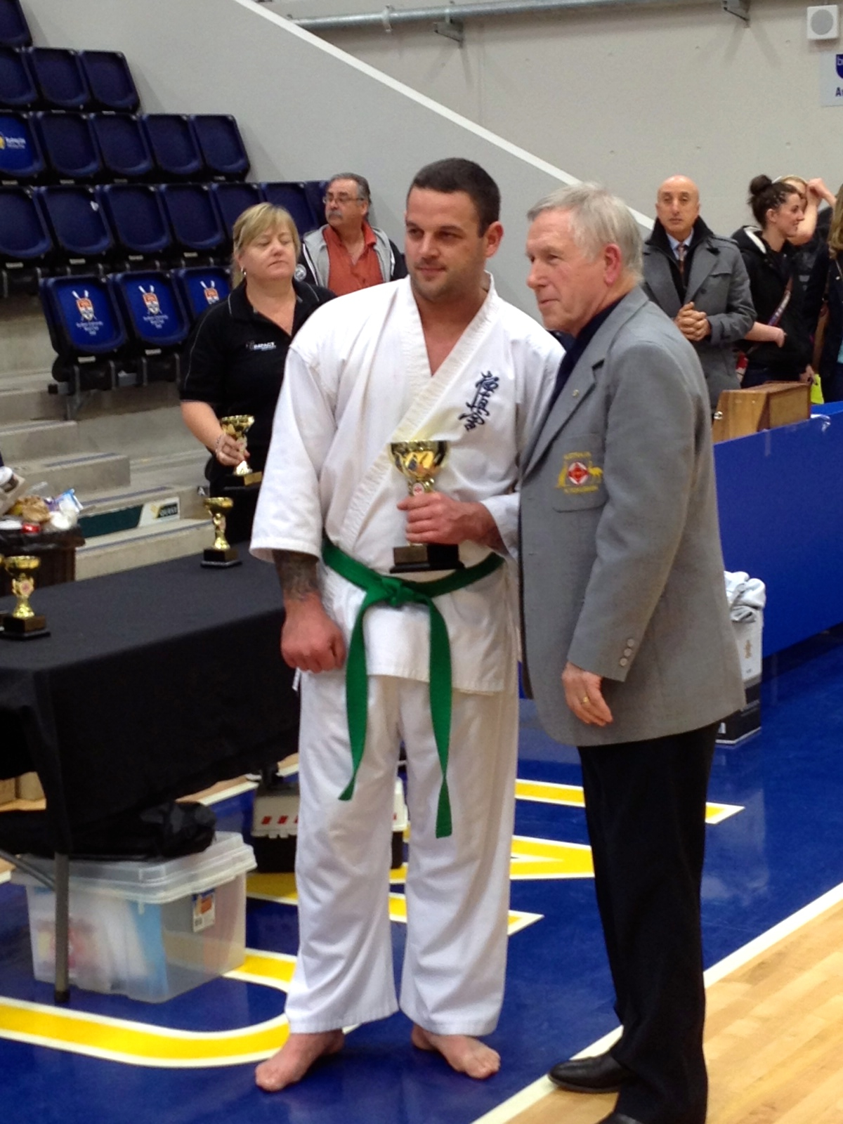 Australian Open Full Contact Karate Tournament – August 3, 2014