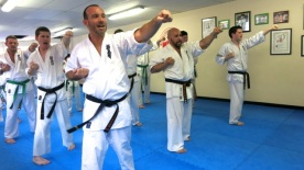 Kyokushin senior grading, September 2014