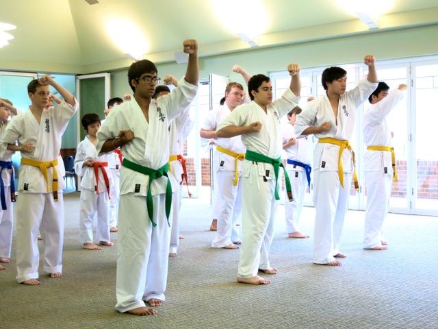 Knox Karate Demonstration & Annual BBQ – November 15,2014