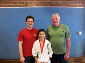 Sempai Alex, Zac Zibaee and Shihan Lipman