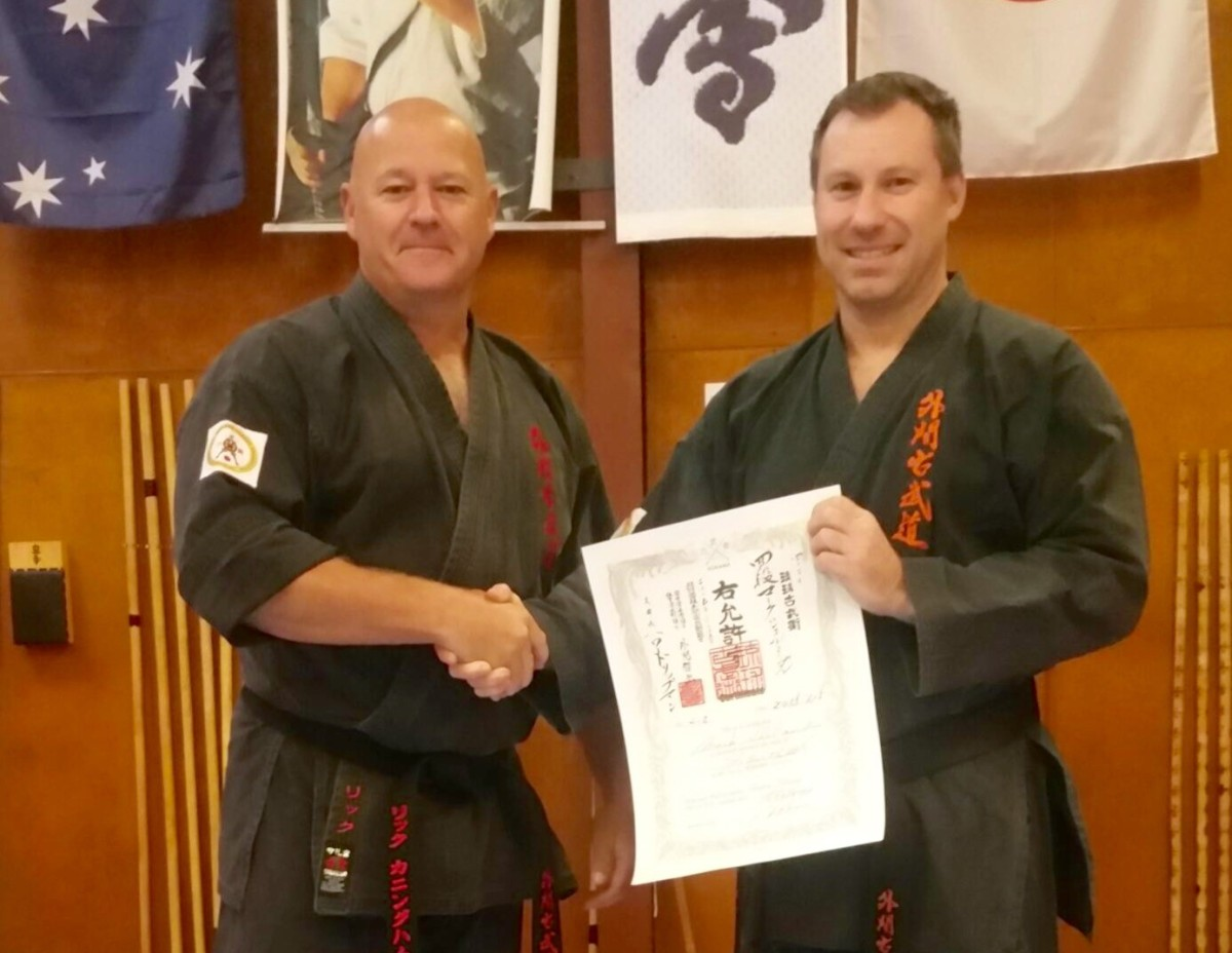 Kobudo Grades Awarded – May, 2015