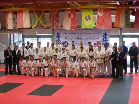 IFKKA tournament competitors.