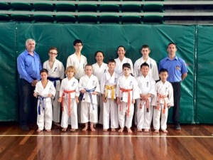 KIMAA competitors at the NAS QLD State Titles.