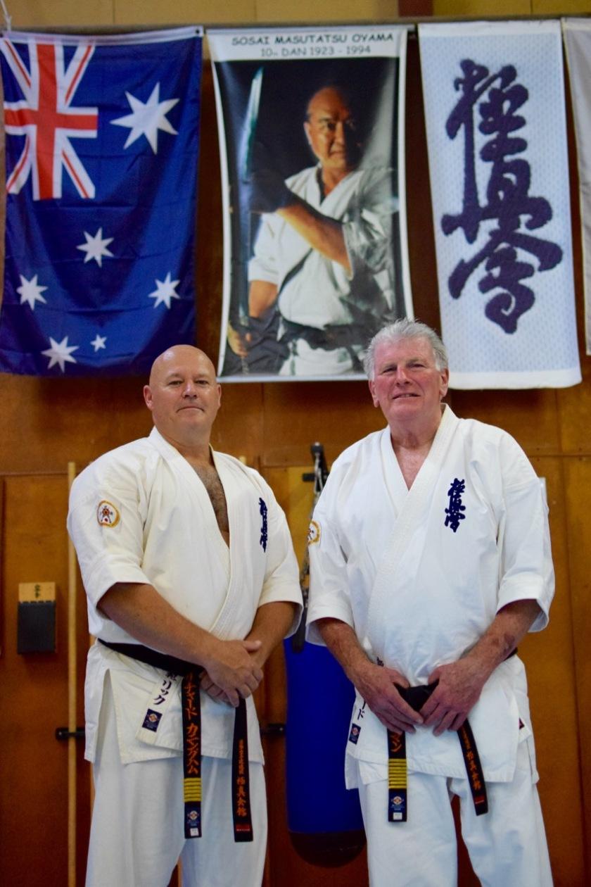 Shihan Rick Cunningham & Shihan Howard Lipman