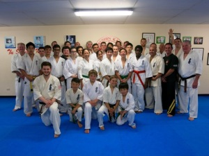 Friday night at Turramurra Dojo