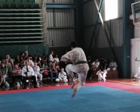 Wes Snyder doing kata