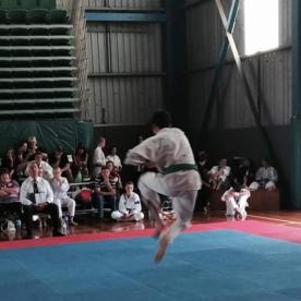 Wes Snyder doing kata