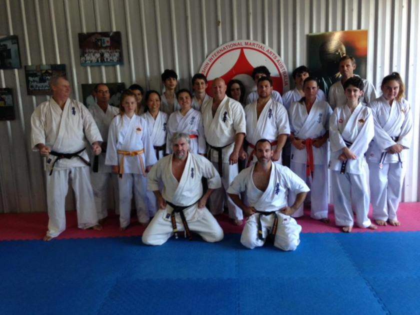Saturday participants in the KIMAA Lismore Seminar.