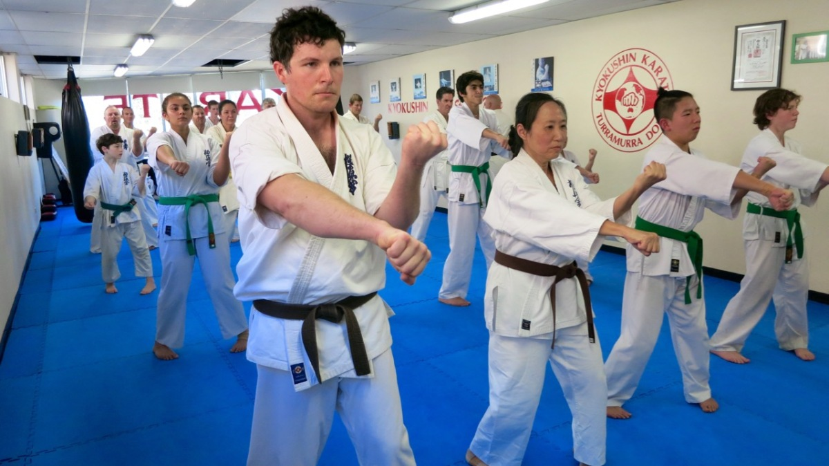 Senior Kyokushin Grading – June 25, 2016
