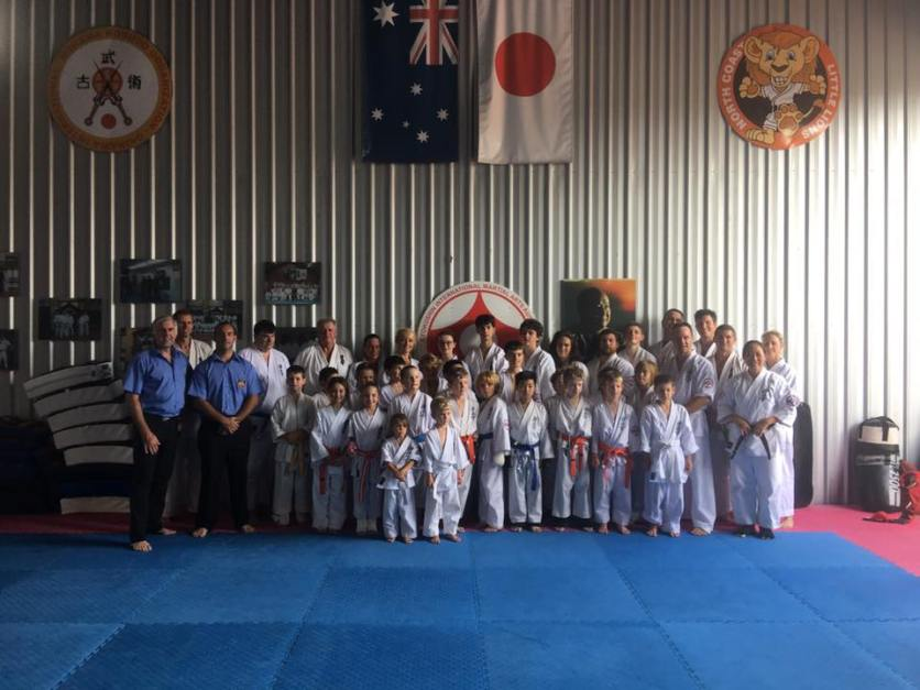 KIMAA North Coast after their December 2016 grading.