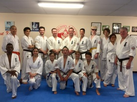 Turramurra Dojo's final class of 2016, on Monday December 19.