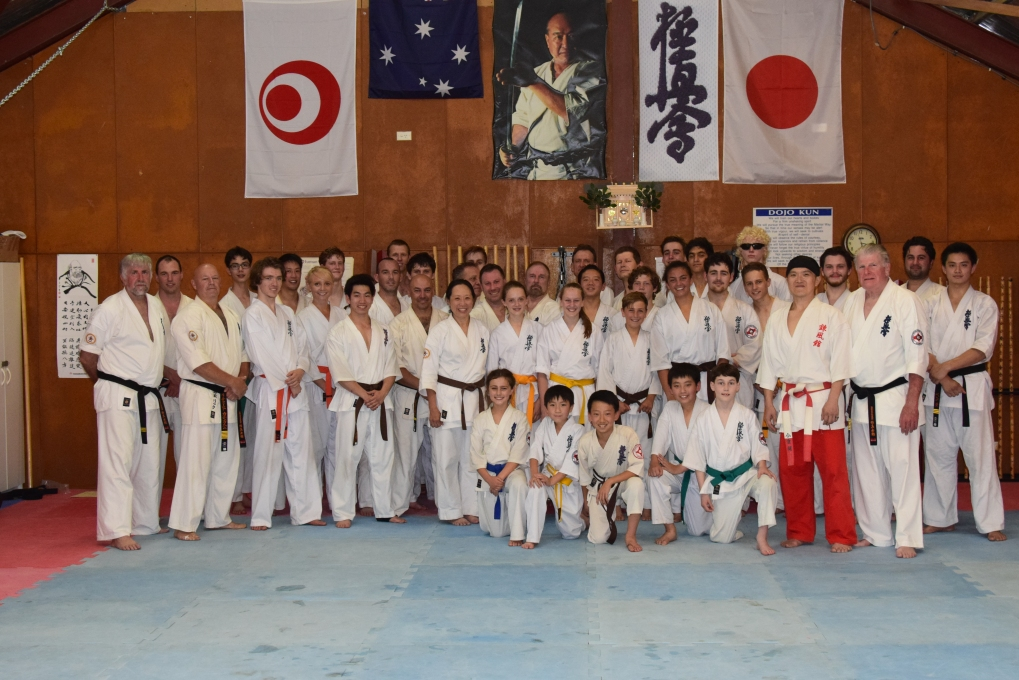 Shihan Ken and the Saturday class.