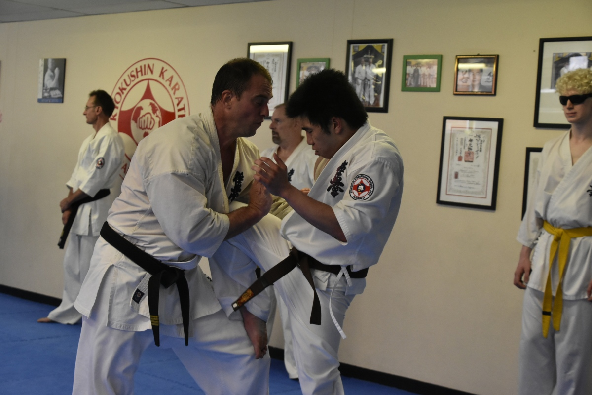 student profiles essays kyokushin international martial arts  perseverance in kyokushin