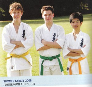 Knox senior students in 2008: James Butterworth, Alex Lloyd & Jonathan Lee.
