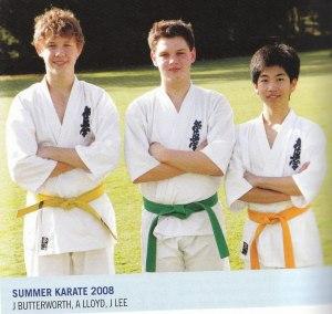 Knox senior students in 2008: James Butterworth, Alex Lloyd & Jonathan Lee.