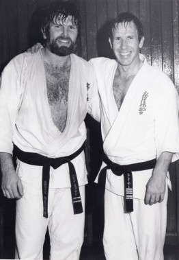 Shihan Howard Lipman & Hanshi John Taylor after the tournament