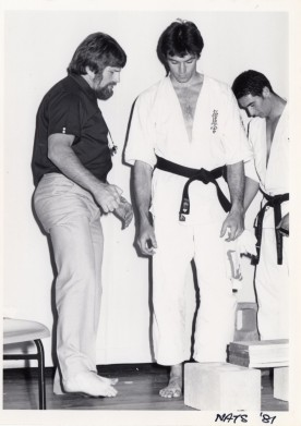 Shihan Howard refereeing