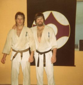 Shihan Howard after the grading
