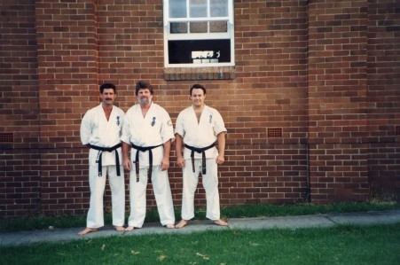 Shihan Mike, Shihan Howard and Shihan Rick