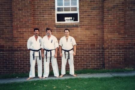 Shihan Mike, Shihan Howard and Shihan Rick