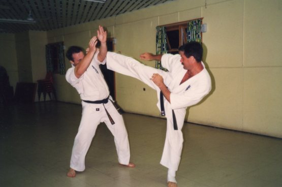 Shihan Rick (left) now a Shodan