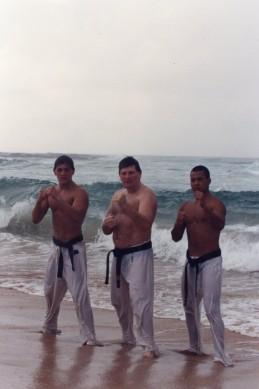 Anthony, Shihan Howard & Sensei Mark Ting