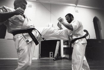Shihan Howard & Shihan Rick training