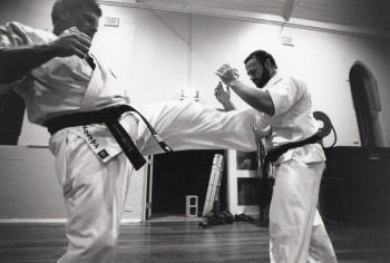 Shihan Howard & Shihan Rick training