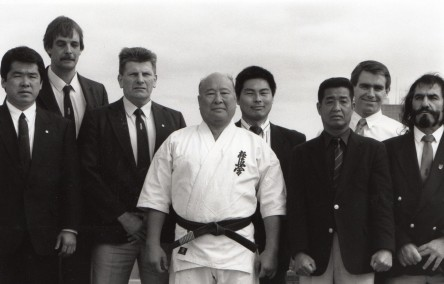 Sosai Oyama with Australian Branch Chiefs