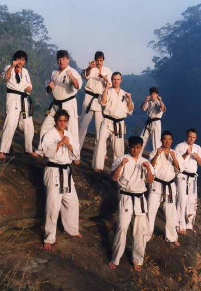 Training with Sosai in 1993