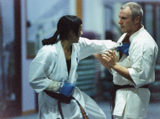 Sensei Paul Finnerty (right)