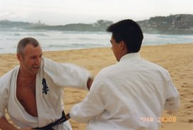 Sensei Paul (left)