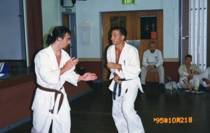Sensei Jon & 40 fights for Shodan